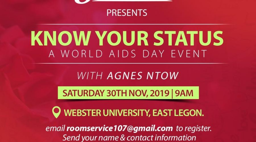 world aids day - know your status